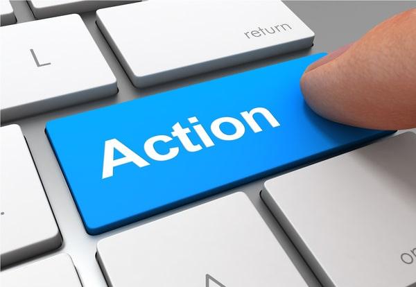 bouton appel action